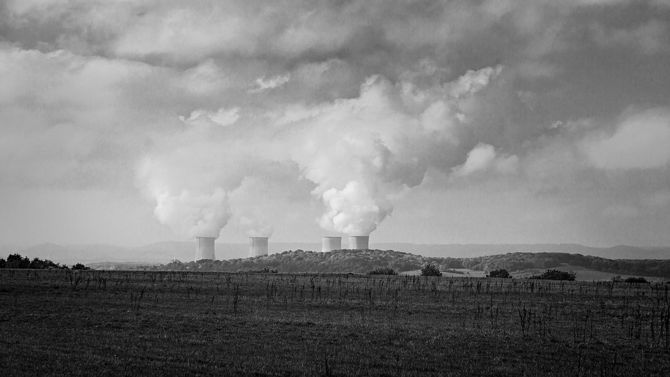 Nuclear Power Plant, Landscape, Nuclear Power