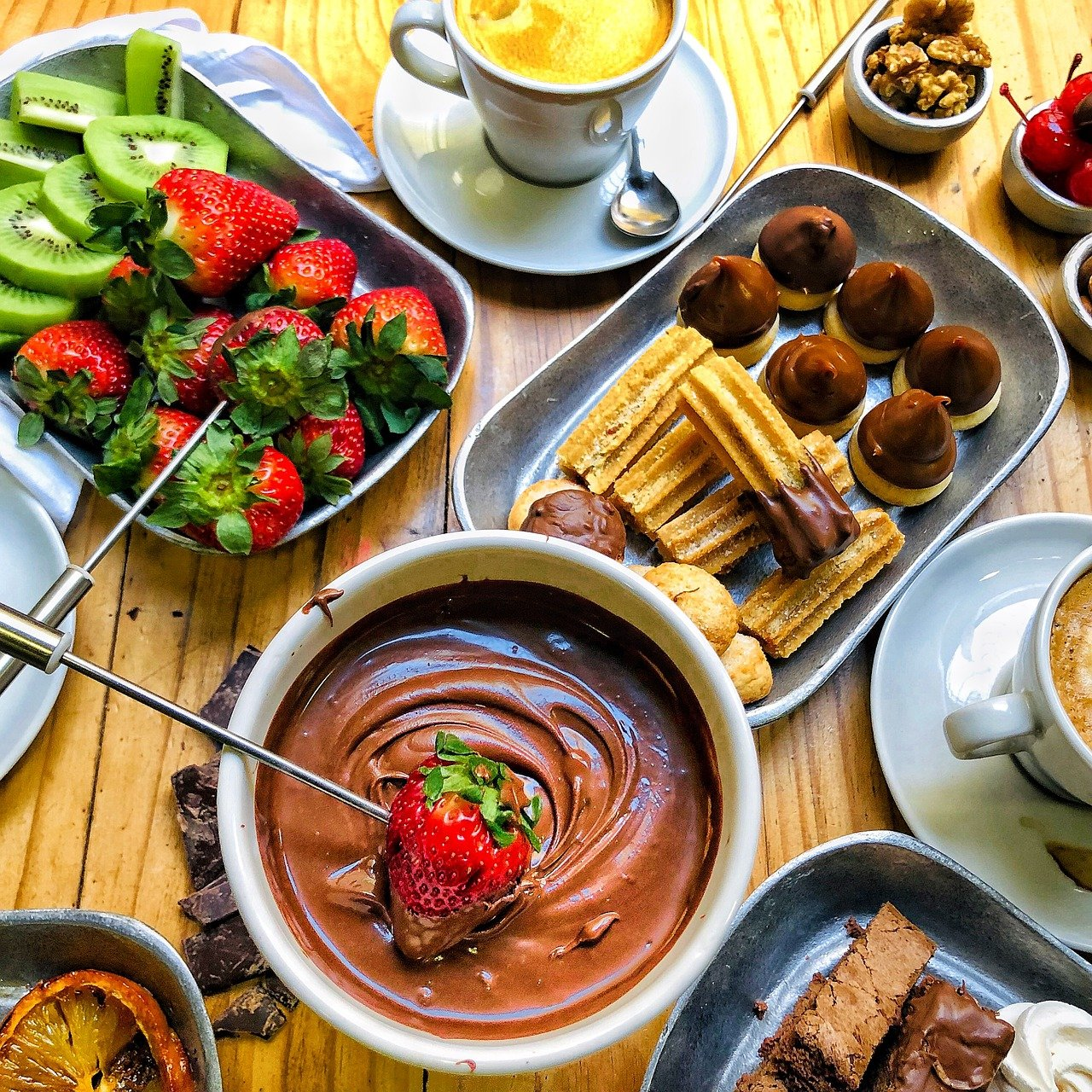 Image result for chocolate fondue