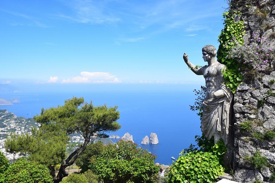 Capri, Romain, Italie