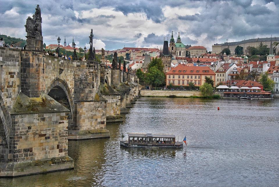 Prag, Tschechien, Fluss