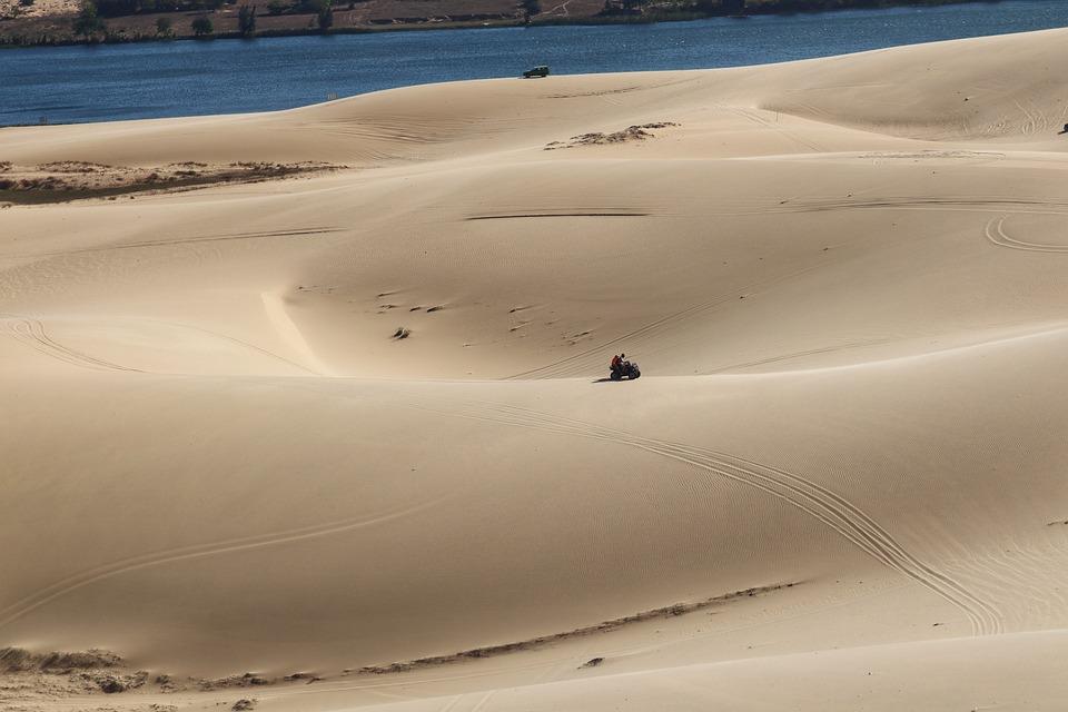 The White Dunes of Mui Ne