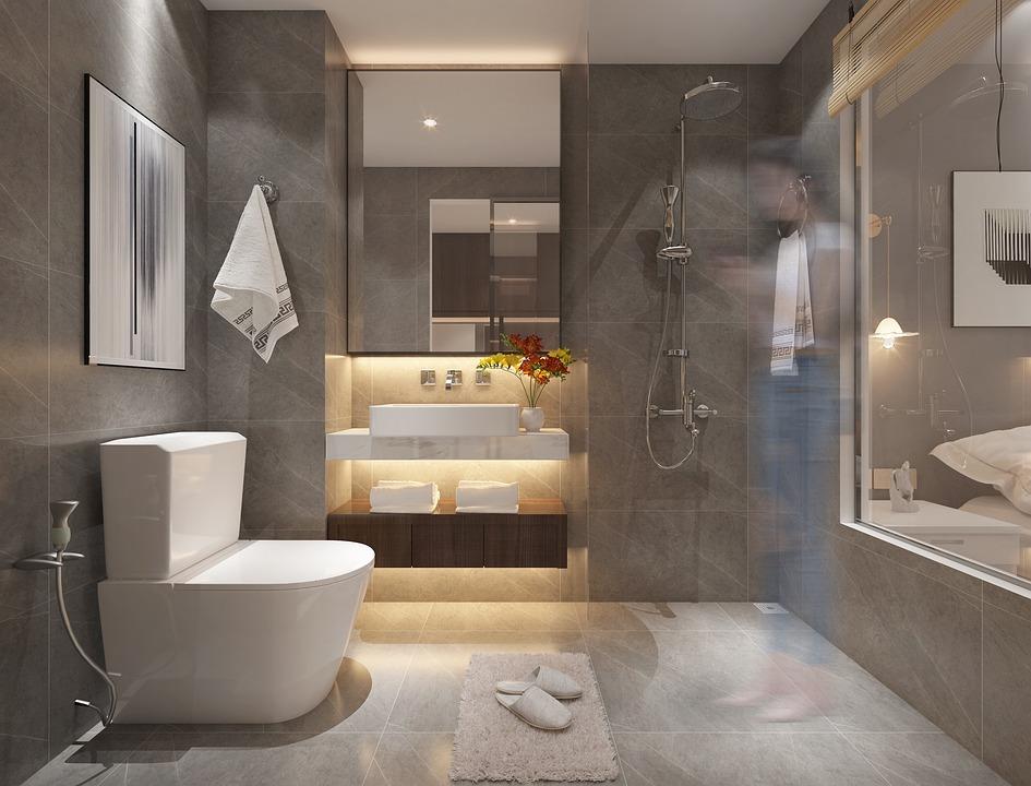Тоалетна, Апартамент, Вътрешен Дизайн, На Закрито