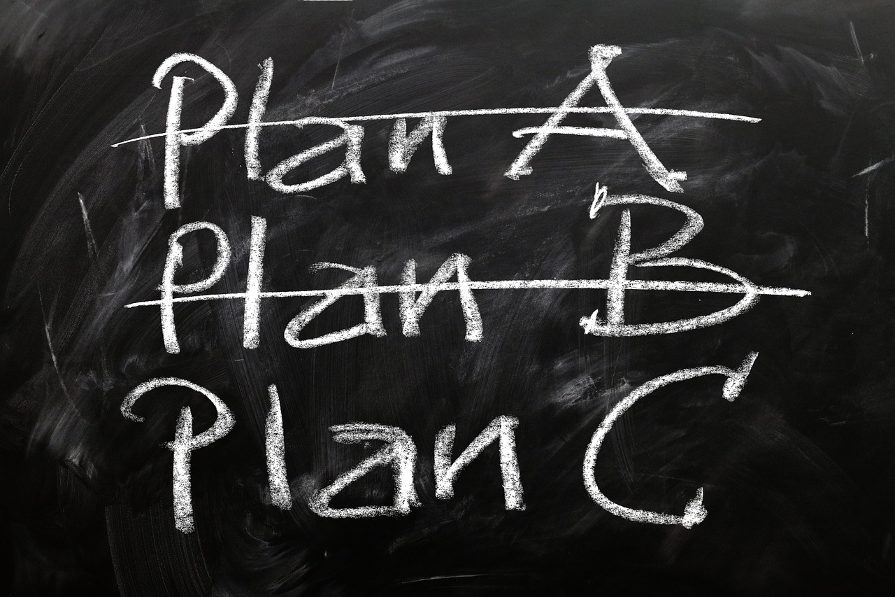 A backup plan for event marketing