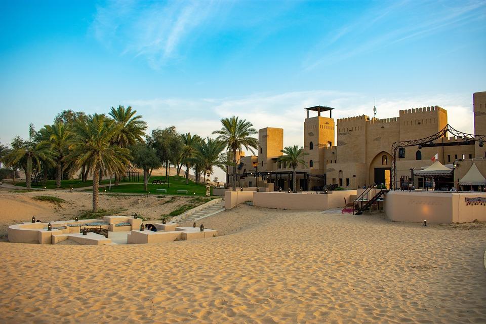Al Qudra desert