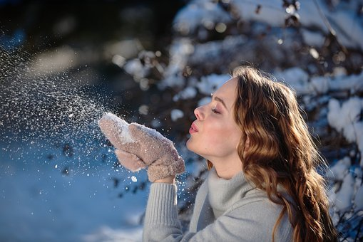 Girl, Snow, Winter, Magic, Frost, Tales