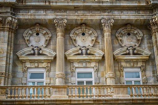 外观, 体系结构, 大理石, 大会堂, 卡塔赫纳