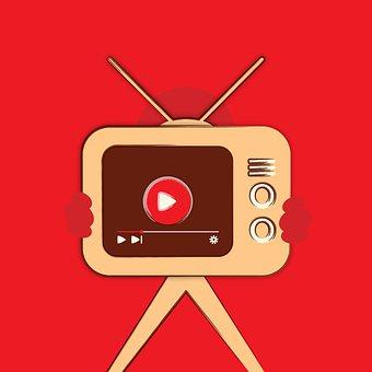 Editorial, Youtube Button, You Tube Icon