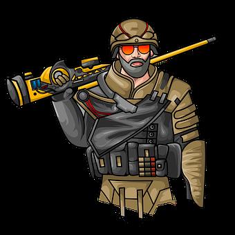 Mascot, Pubg, Man, Soldier, Pubg, Pubg