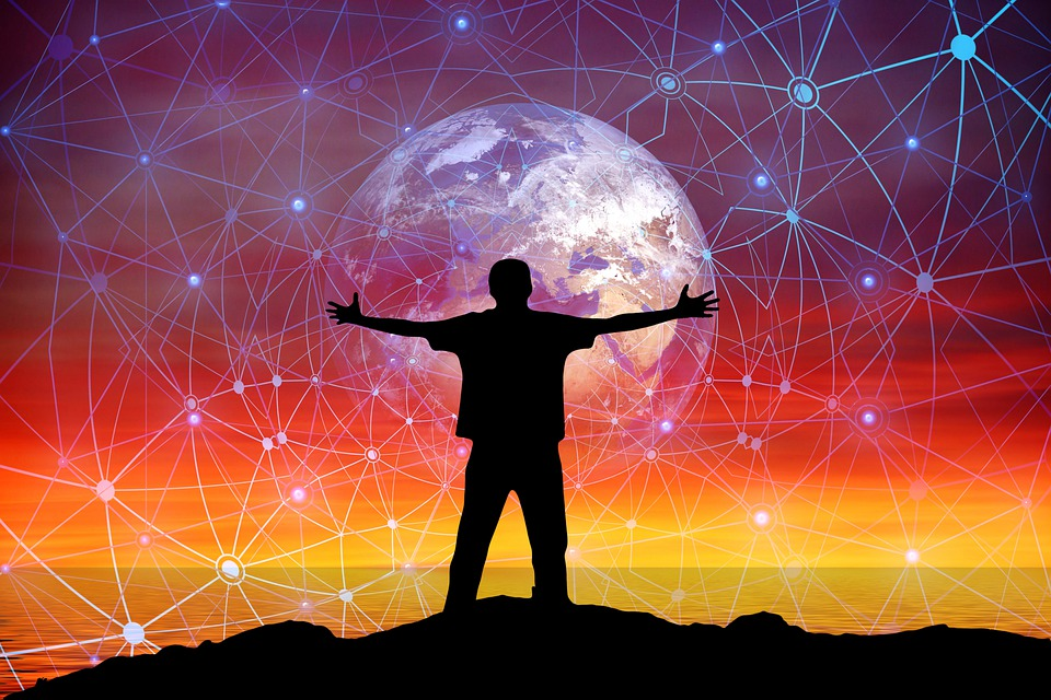 Network, Hug, Embrace, Man, Media, Silhouette, Social