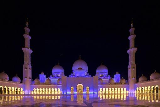 Abu Dhabi, Mesjid, Arsitektur, Arab