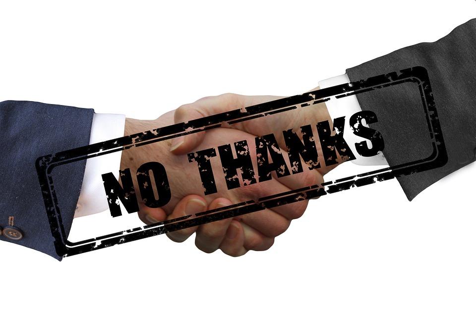 Coronavirus, お問い合わせ, いいえ, ありがとう, ウイルス, 握手, ハンドシェイク, 保護