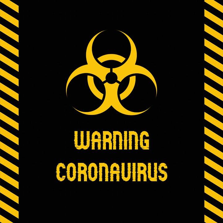 Коронавирус, Войдите, Предупреждение, Остановить, Вирус