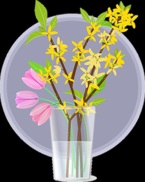 Bahar Paskalya Hor Cicegi Pixabay Da Ucretsiz Vektor Grafik