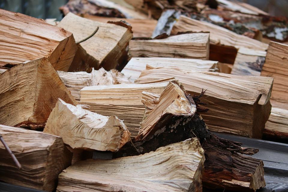 木, 薪, 櫛スレッド 切削, 暖炉のための木材, Holzstapel, テクスチャ, 熱, 成長株