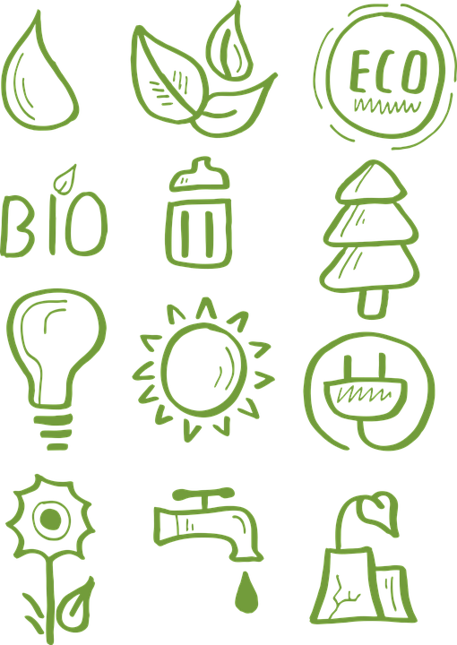 Icon, Eco, Bio, Milieuvriendelijk, Recycling, Aanmelden