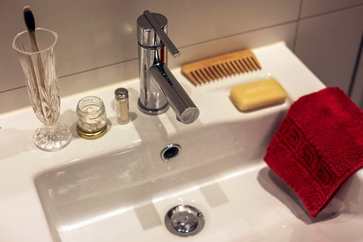 Bathroom Sink, To Wash, Wash Your Hands