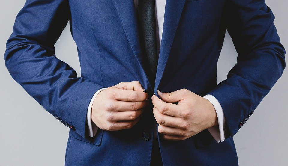 Businessman, Suit, Button, Up, Classy, Elegant, Manager