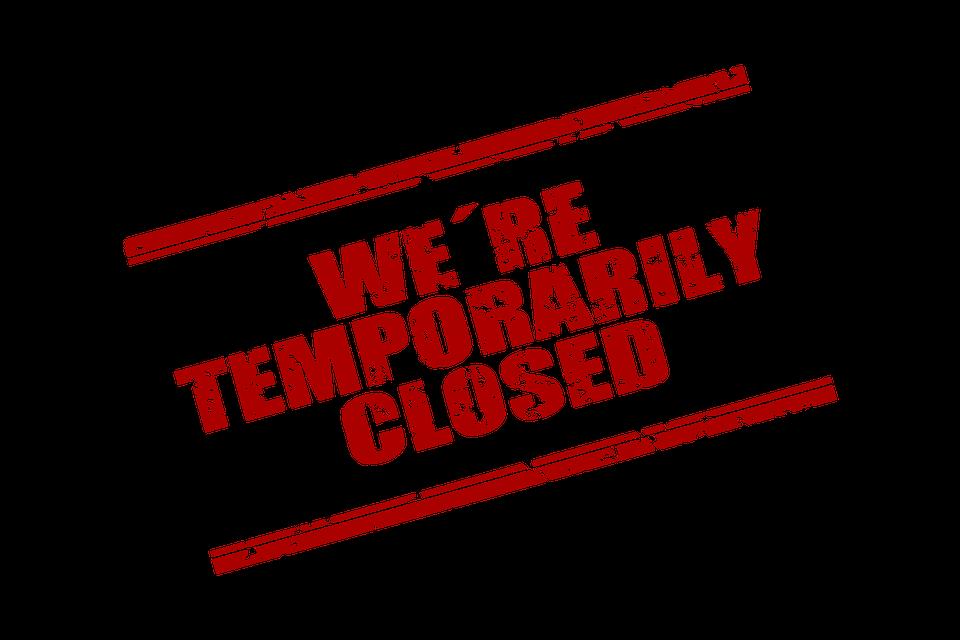 Corona, Stamp, Temporarily, Closed, Closure, Covid-19