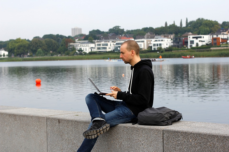 Digital Nomad, Phoenix Lake, Dortmund, Work