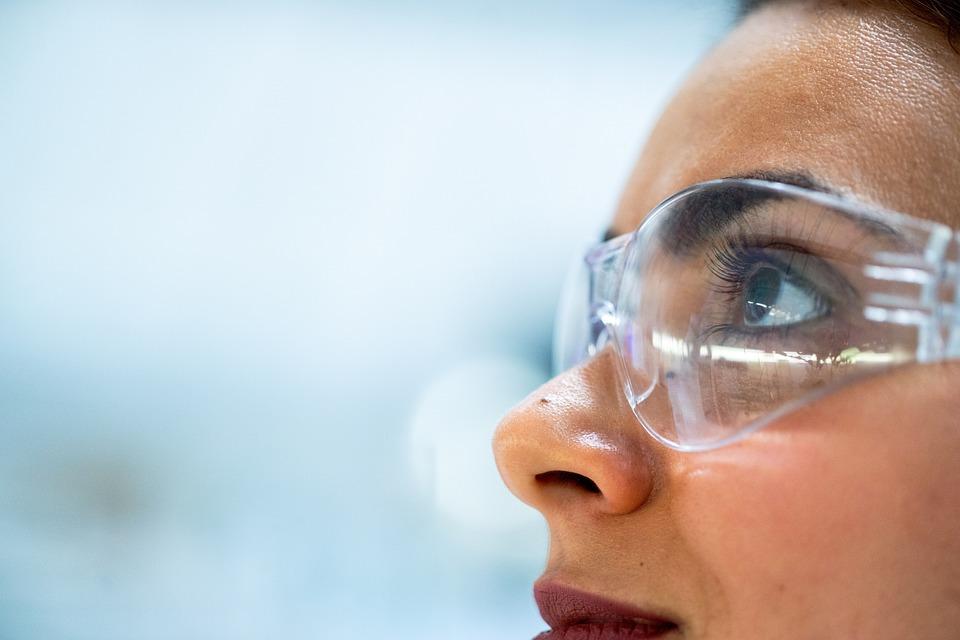 Gafas, Químico, Investigador, Medicina, Protección