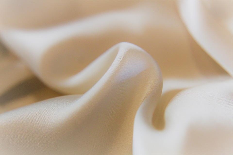シルク, 繊維, テクスチャ, 綿, ファブリック, 布, サテン, 材料