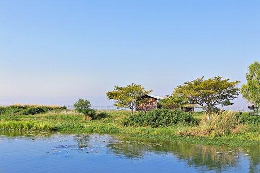 Stilt, Lake Inle, Burma, Myanmar