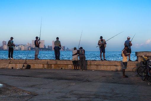 Куба, Гавана, Malégon, Рыбак