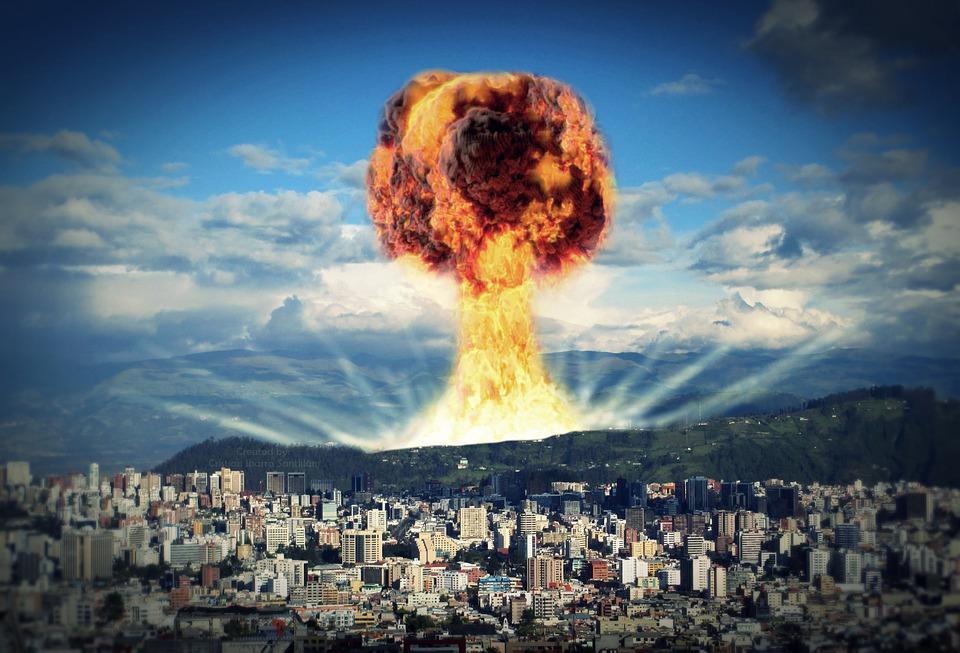 Nukleare, Nukleare Explosion, Apokalypse, Nuke