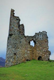 Scotland, Castle, Ruin, Historically