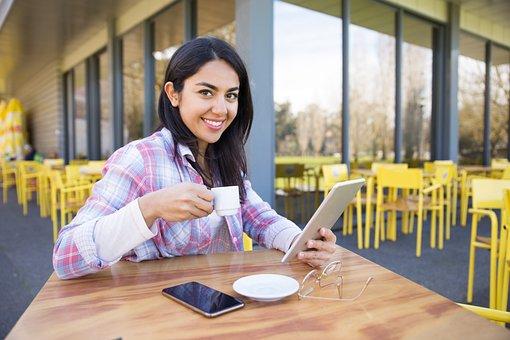 Girl, Ipad, Tablet, Education, Woman