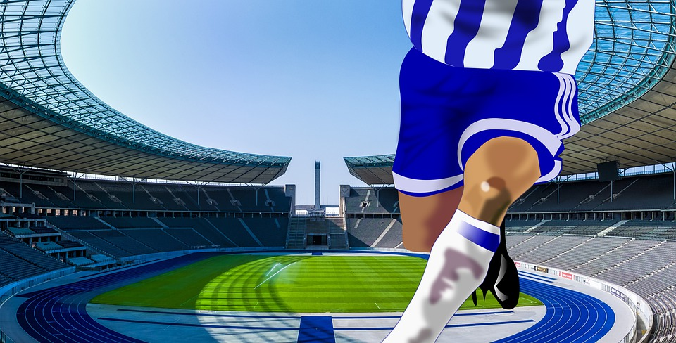 Football, Football Player, Arena, Players, Stadium