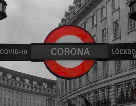 Corona, Covid-19, London, Locked