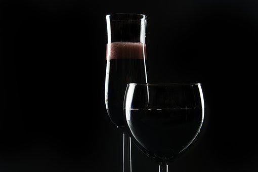 Wine, Drink, Alcohol, Glasses, Glassware