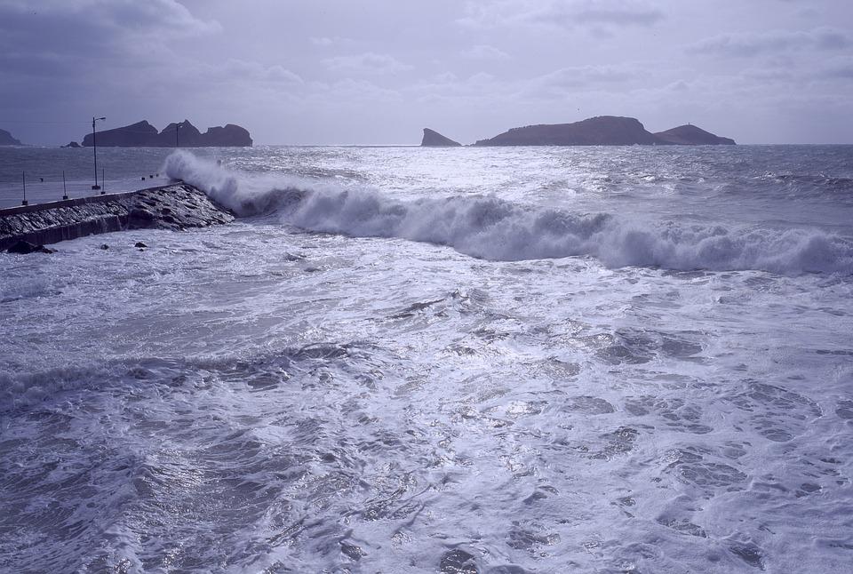 海, 台風, 嵐, 天気, 風, 物価, 災害, 気候, 波, 空, 気象学, 海岸, ビーチ