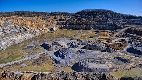 Pedreira, Mina, Terraplenagem, Escavação