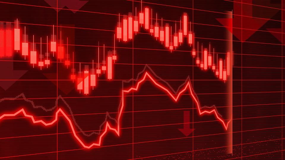 解析, 銀行, ブローカー, ビジネス, 危機, 暗号化, 通貨, チャート, 経済, 秋, 財源, 金融