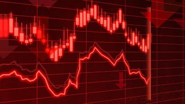 解析, 銀行, ブローカー, ビジネス, 危機, 暗号化, 通貨, チャート
