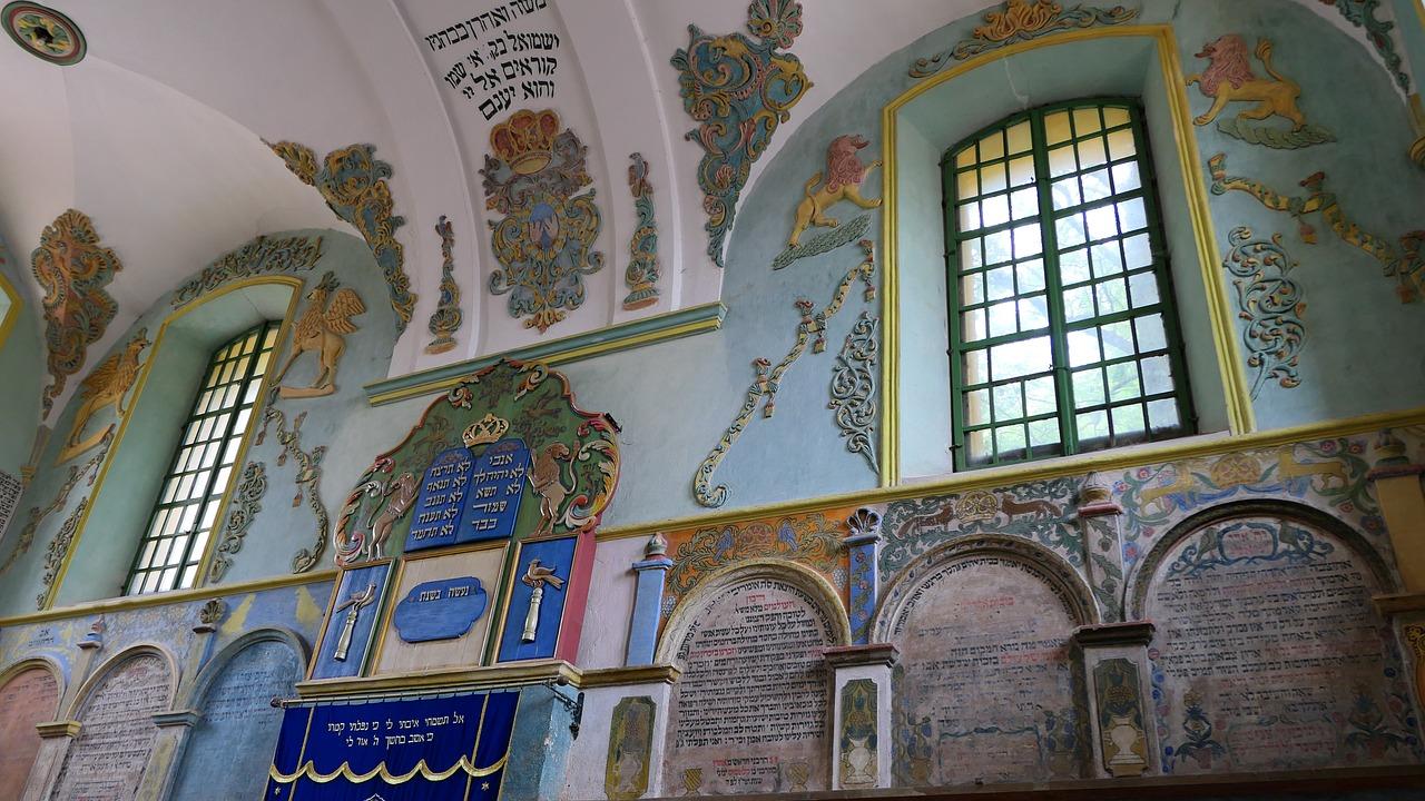 Interior photo of Synagogue Łańcut, Poland