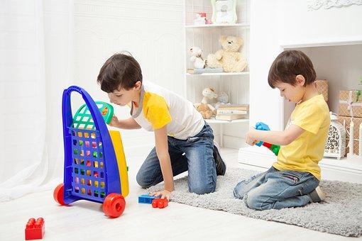 ゲーム, 子供, エンターテインメント, コンス トラクター, 幸福, 赤ちゃん