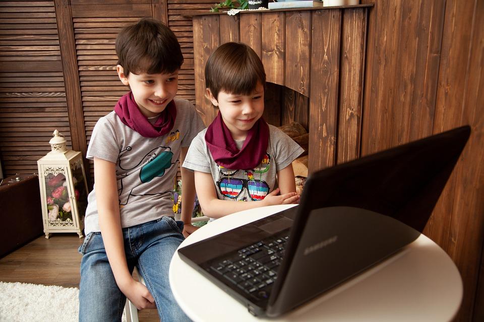 Kids, The Internet, Computer, Notebook, Education, Idea
