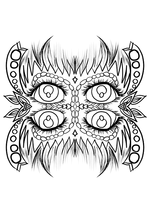 Mandala Boyama Sayfasi Desen Pixabay De Ucretsiz Resim