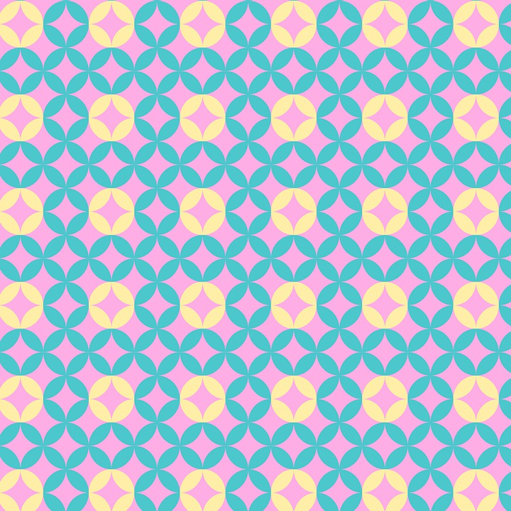 Pink Floral Seamless Patterns Ideal For Printing