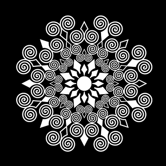 Ornamen Bunga Gambar Vektor Unduh Gambar Gratis Pixabay