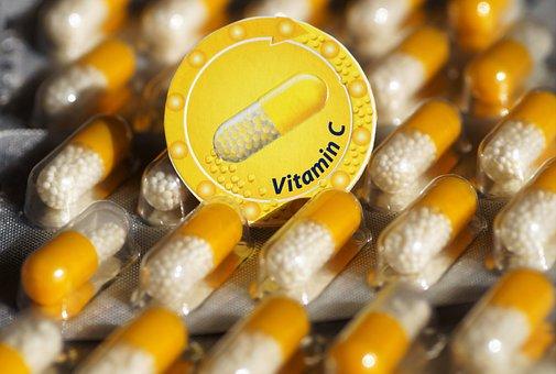 Vitamin C, Vitamin, C, Health, Capsules