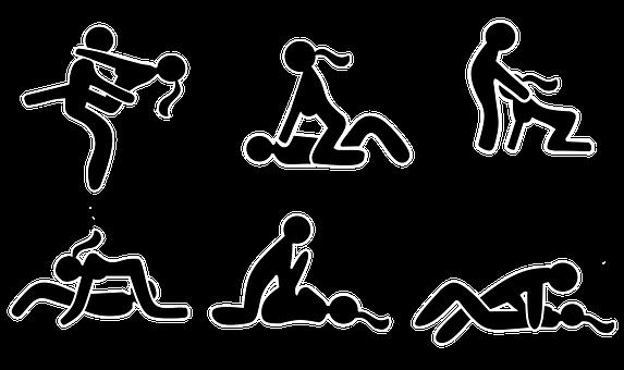 Sex, Missionary Position, Rider Position
