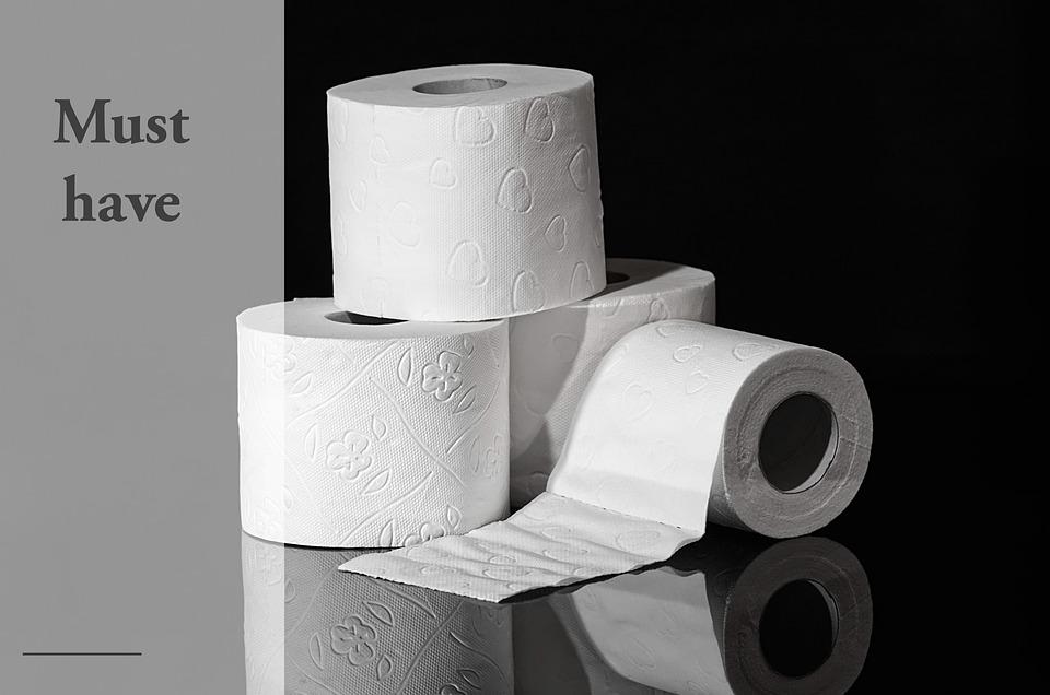 Kertas Toilet, Dijual, Hamster Pembelian, Corona, Panik
