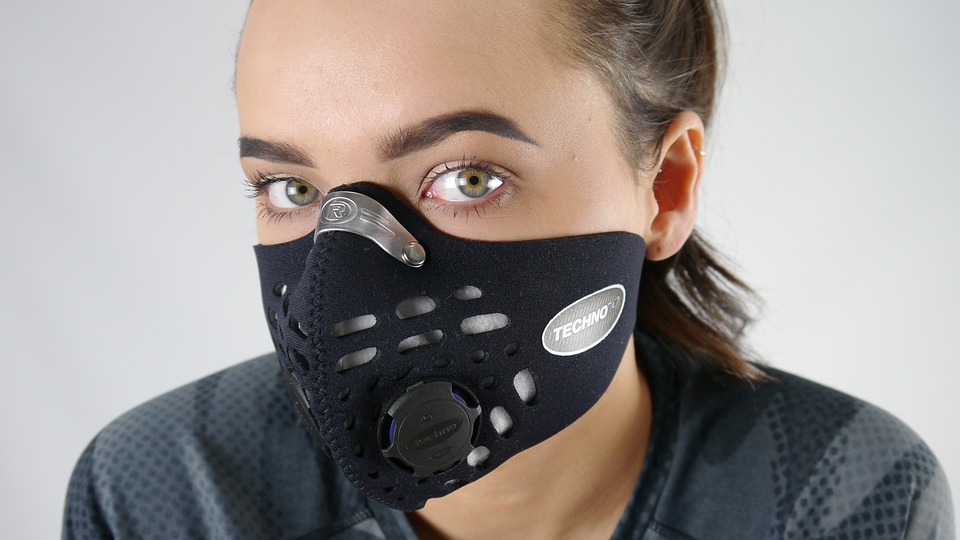 masque entier pollution