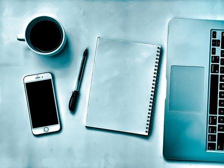 Escritório, Caneta, Trabalho, Computador
