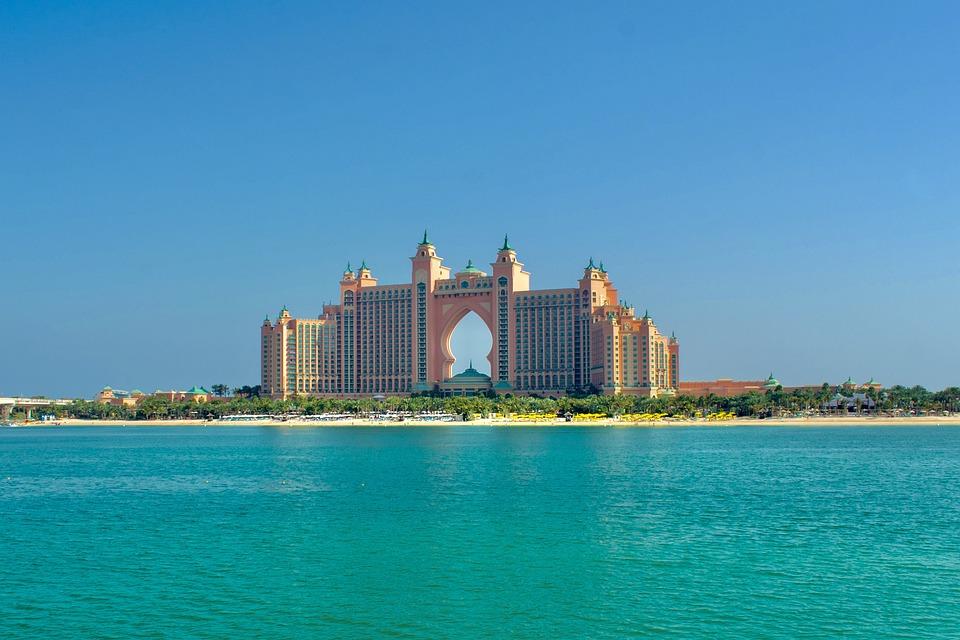 Atlantis, The Palm, Dubai, Hotel, Architecture