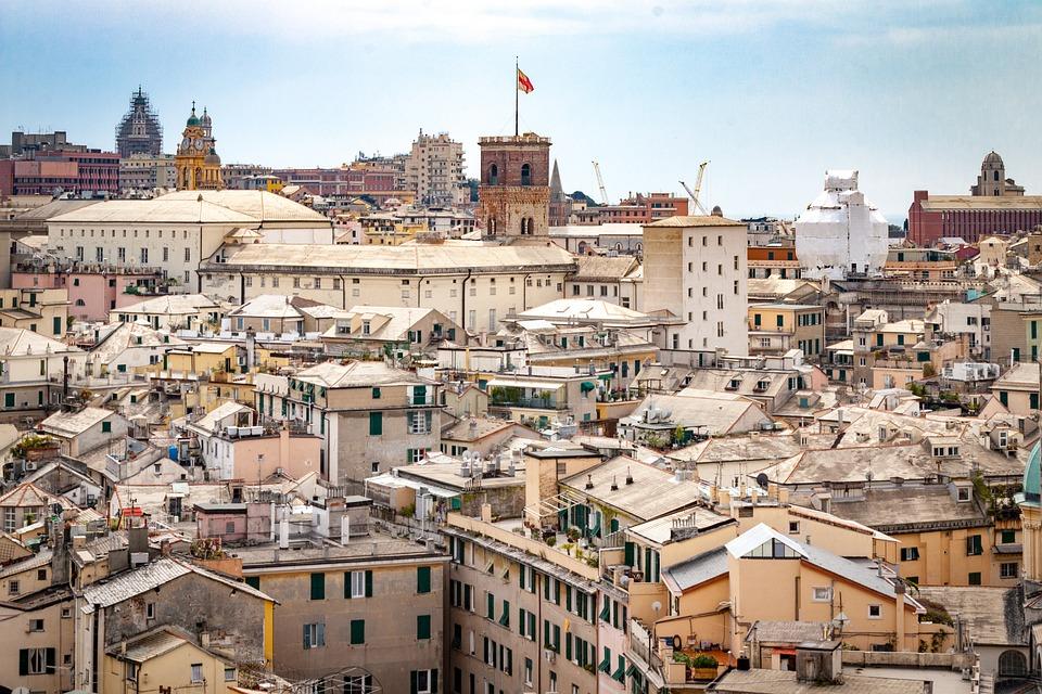 Genoa, Italy, Tourism, City, Liguria, Travel